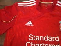 Classic Football Shirts   2011 Liverpool Vintage Old Jerseys